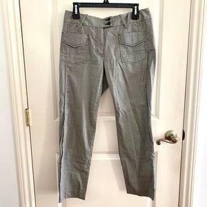 🌙 3.1 Phillip Lim Pinstripe Utility Trousers Grey
